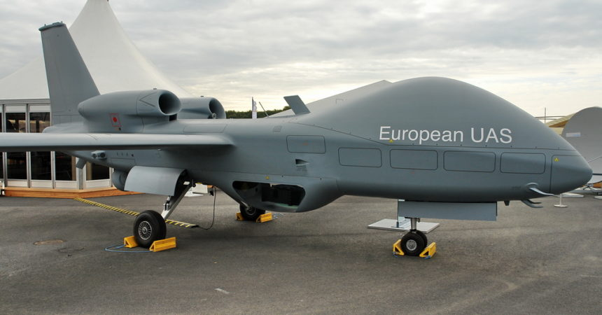 Defence Mission Systems Champions team up for European MALE drone programme