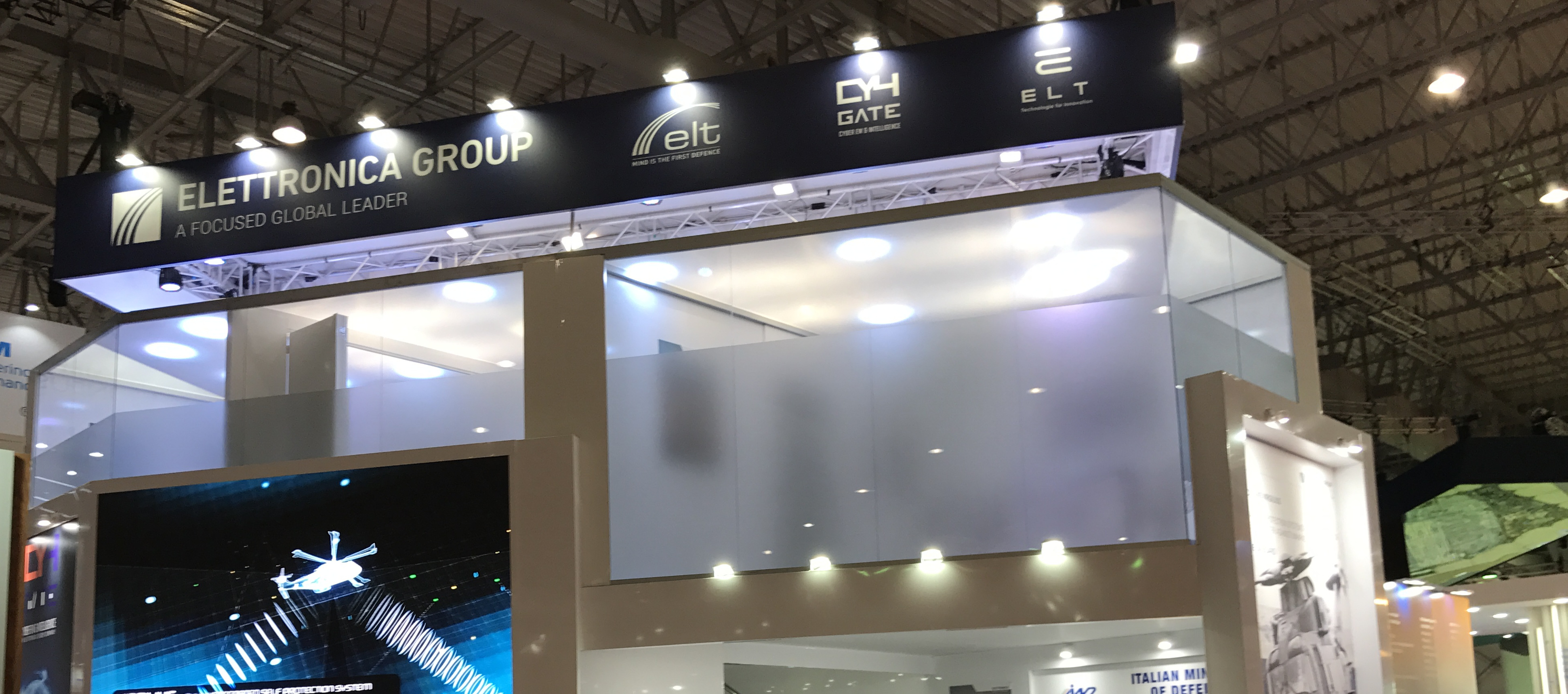 ELETTRONICA GROUP - DUBAI AIR SHOW