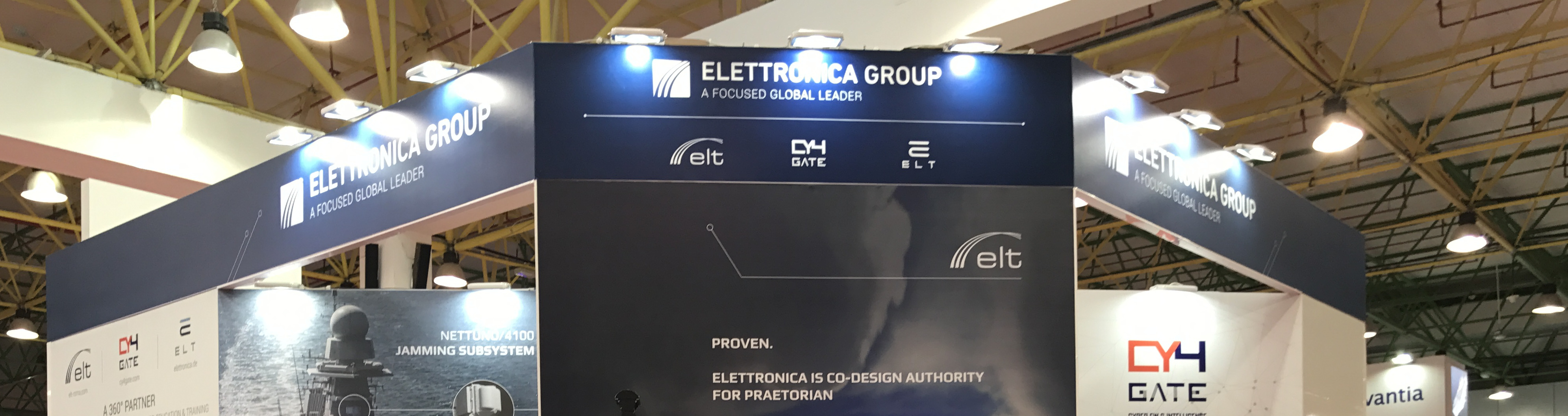 ELETTRONICA GROUP at GDA 2017